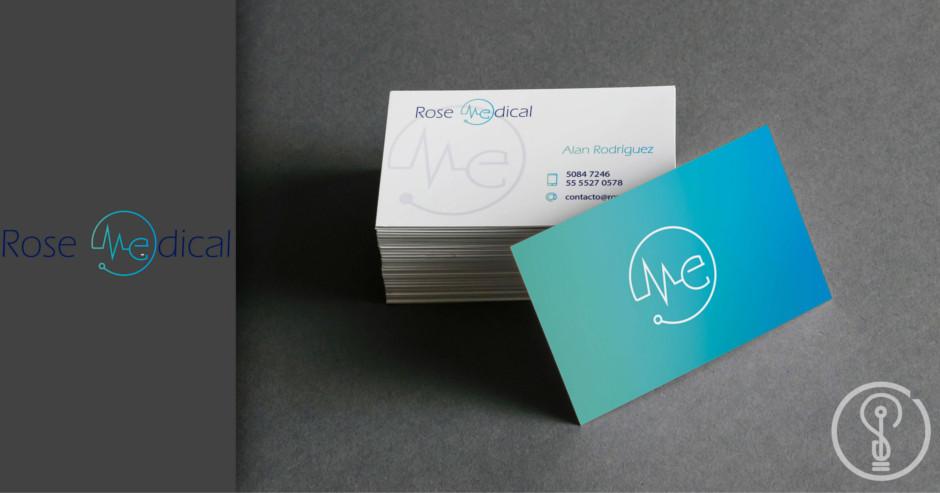 Diseño de Logotipo - Rose Medical