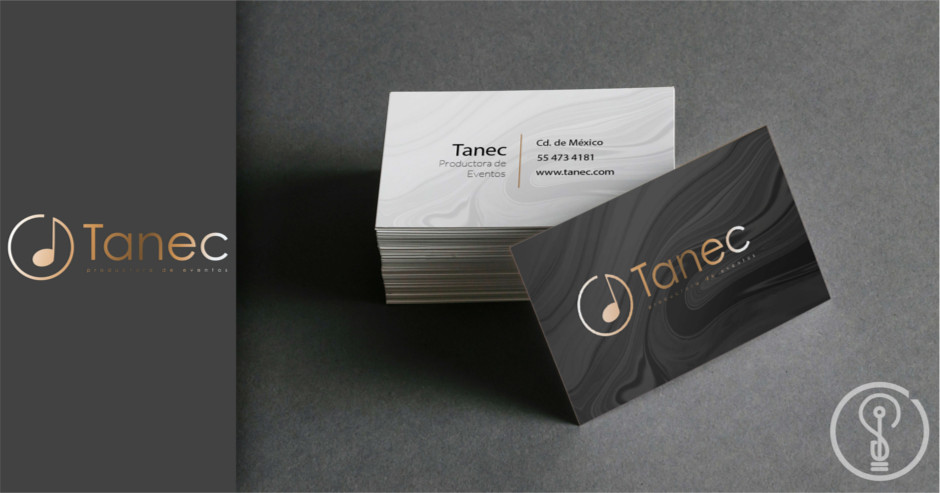 Diseño de Logotipo -Tanec