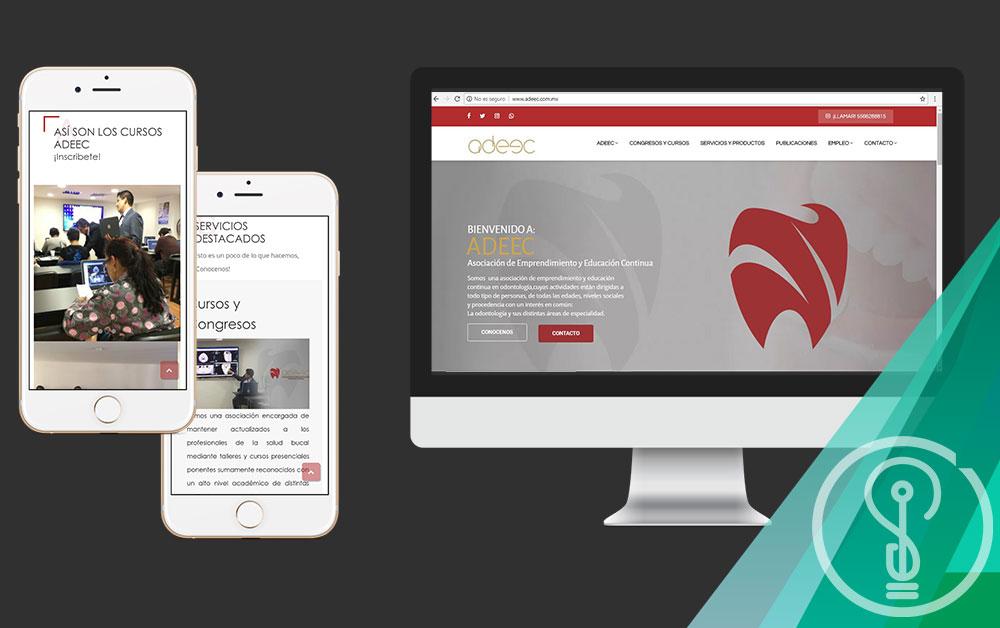 Diseño de Páginas Web - ADEEC