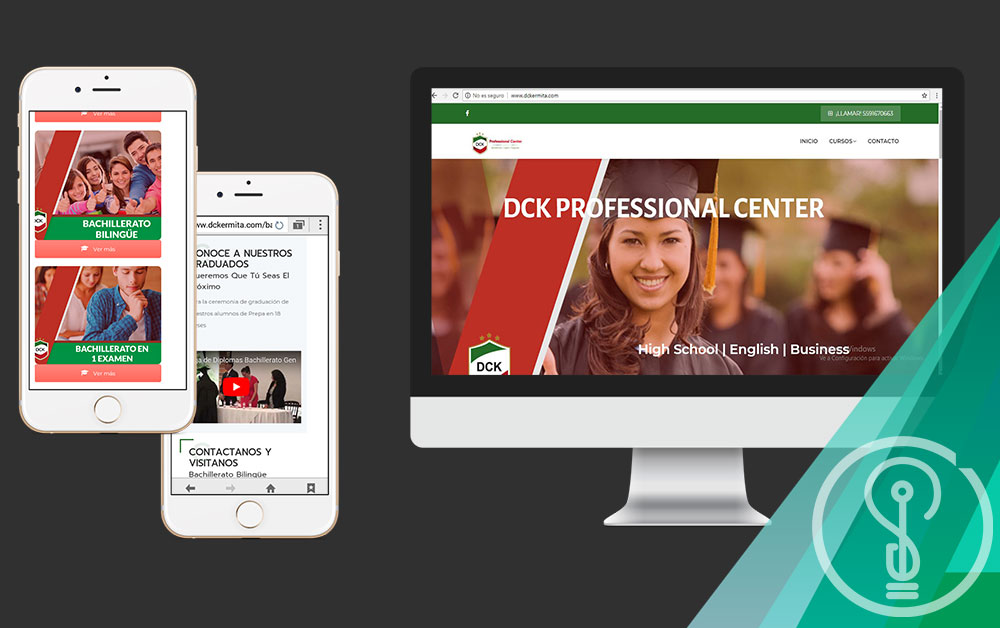 Diseño de Páginas Web DF - DCK Professional Center