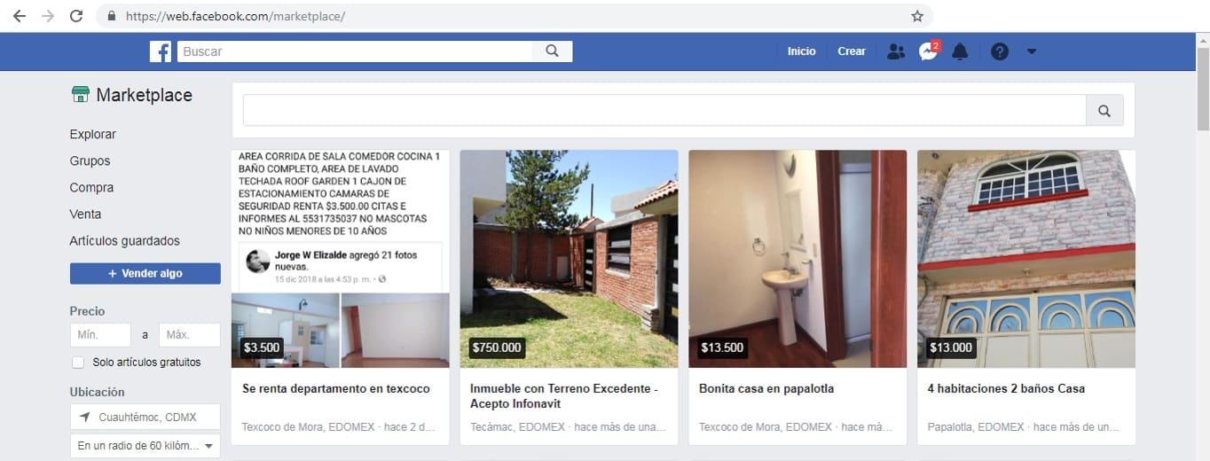 como vender casas rapido con google y facebook